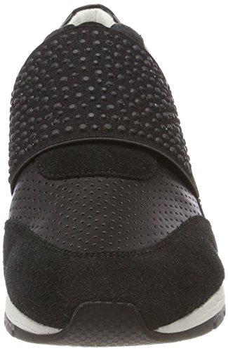 Geox Damen D Shahira A Sneaker Schwarz (nero)