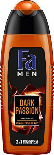 Fa Men Dark Passion Sensual Fresh Duschgel, 6er Pack (6 x 250 ml)