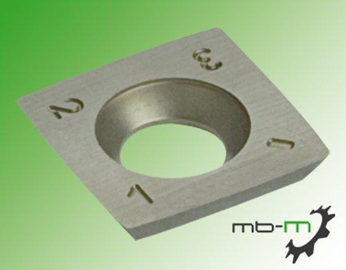 10Stk. Vorschneider Wendeplatten / Wendemesser HM 14x14x2,0mm