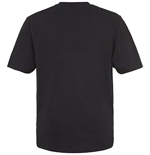 JAN VANDERSTORM Herren Doppelpack T-Shirt ERKE in Übergröße bis 6XL - NEU - Schwarz