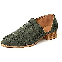 9f51b56d2 Zapatos Mujer Verano Otoño Sandalias De Cuña Tobillo Boots Respirable Hueco  Redonda Toe Zapatos Botas Negro