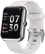 Septoui Orologio Fitness Uomo con GPS Integrato Touchscreen Completo Impermeabile con Cinturino connesso Cardi