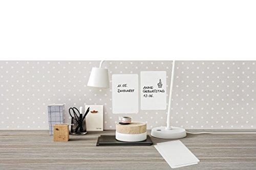 Avery Zweckform 62013 - Láminas de pizarra blanca autoadhesivas (98 x 149 mm), color blanco
