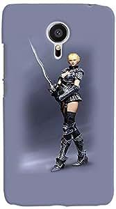 PrintVisa 3D-MEIZUMX5-D7801 Hot Girl Back Cover for Meizu MX5