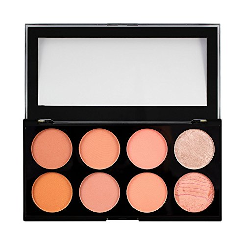 MAKEUP REVOLUTION Ultra Blush Palette Hot Spice, 13 g
