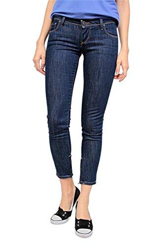 Pepe Jeans Jeans Stretti CHER, donna, Colore: Blu Scuro, Taglia: 26