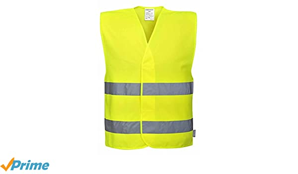 Portwest C481YORXX//3X Two Tone Hi-Vis Vest Yellow//Orange XX-Large//3X-Large Regular