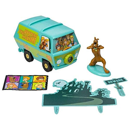 Scooby-Doo! Mystery Machine Signature Cake Decorating Kit (Cupcake Doo Toppers Scooby)