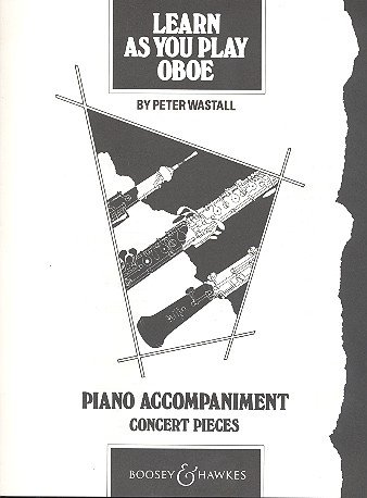 Learn As You Play Oboe. Klavier, Begleitung
