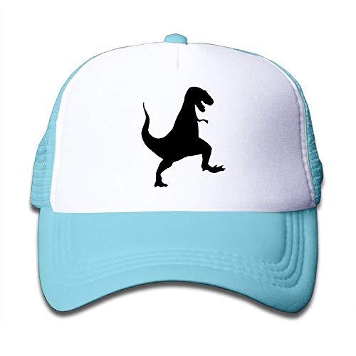 Nifdhkw Imágenes prediseñadas de T-Rex en el Sombrero de Camionero de niños y niñas, Sombreros de Malla para niños pequeños Gorra de béisbol cosy28958