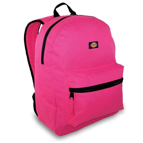 Dickies Luggage Student Backpack, Shocking Pink, One Size -