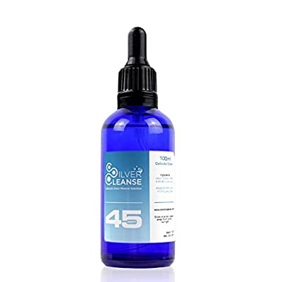 SilverCleanse Colloidal Silver Pipet 45ppm 100ml