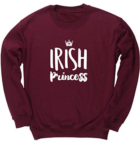 hippowarehouse-irish-princess-kids-unisex-jumper-sweatshirt-pullover