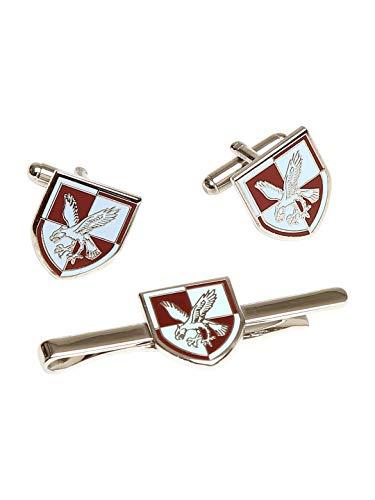 16 air assaut brigade Boutons de manchette et cravate set cadeau