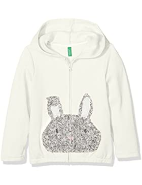 United Colors of Benetton Jacket W/Hood Longsleeve Cotton Blend, Giacca Bambina