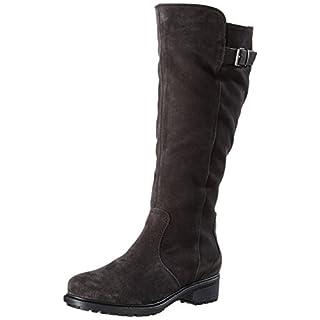 ara Damen Kurzschaft Stiefel Stiefel Kansas-St, Braun (Lava,Moro), Gr. 39 (UK 6)