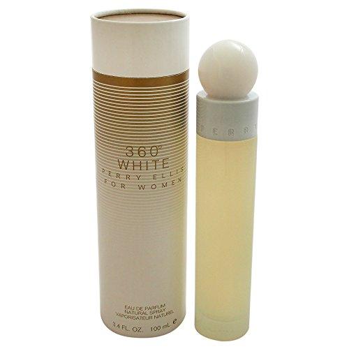 Perry Ellis 360 White EDP Vaporisateur/Spray für Sie 100ml Perry Ellis Für Damen