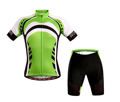czup-herren-summer-bmx-fahrrad-jersey-reiten-gepolsterte-shorts-green-giant-zyklus-klagen-up-d315-su