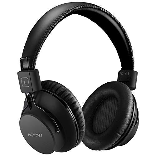 Mpow H1 Cuffie Bluetooth, Cuffie Bluetooth CSR Over-Ear 4.1, Autonomia 20 Ore, Cuffie Bluetooth Pieghevole Ergonomico con Microfono, Riduzione di...