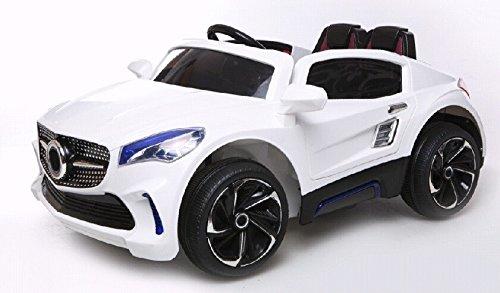 Kinderfahrzeug – Elektro Auto – F007 – ferngesteuert 2x 35W – 12V7Ah- weiss