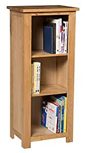 Waverly Oak Small Bookcase With Adjustable Shelves In