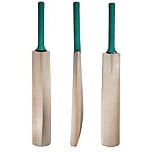 Facto Power FP_PLN_HC_1331 Plain Kashmir Willow Cricket Bat With Half Cane Handle