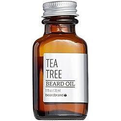 Beardbrand - Aceite para Barba Tea Tree Beard Oil (30ml)