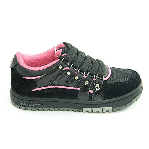 Naturino - Naturino scarpe bambina nero rosa SPORT 241 Nero