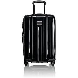 Tumi V3, Equipaje de mano internacional expandible, 56 cm, 36 L, Black, 0228260D
