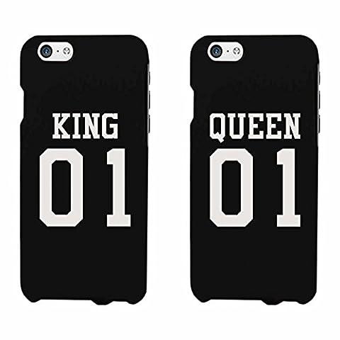 365Impression King 01Queen 01Couple Coque de Coque Housses de téléphone, plastique, Men: iPhone 6 / Women: iphone 6