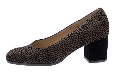 Zapato Cómodo Mujer Salón Lince Caoba 185301 PieSanto
