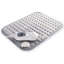 JFJL Húmedo Y Seco Almohadilla De Calefacción Eléctrica con Tecnología De Calor Ultra Rápido para Espalda