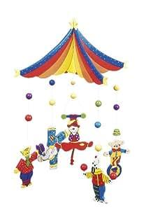 Goki - 52969 - Mobile - Cirque en Bois
