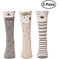 Fenical 3 Paar Baby kniestrümpfe Baby strümpfe Baumwolle Socken Weiche Atmungsaktive Kleinkind Strümpfe