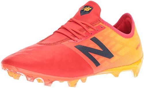 Zapatillas De Futbol New Balance Furon 4.0 Pro Leather FG Msfkffa4, 45, Naranja