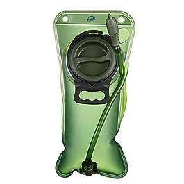 Hihill Sacca Idratazione, 2 litri Sacchetto dell'Acqua Capacità Water Bladder Portatile Sistema di Idratazione per…