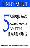 5 UNIQUE WAYS OF MAKING MONEY WITH DOMAIN NAMES: PERSONAL DOMAIN NAMES WORKBOOK