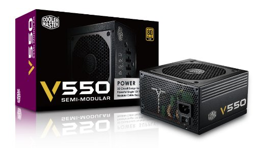 Coolermaster VS Serie, V550S RS-550-AMAA-G1, Alimentatore Elettrico, 550W