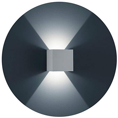pe Weiß Aluminiumgehäuse mit einstellbar Abstrahlwinkel Design NEU 12W Kalt weiß Gips Lampe Leuchte IP 65 ()