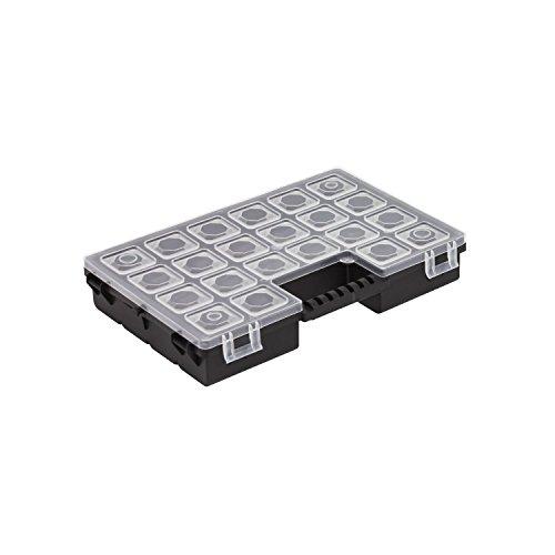 Sortimentskasten Sortierbox Tandem A Box Kleinteilebox Organizer 270x180x45 Deckel transparent