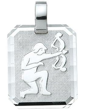 Silber 925 Sterling Silver Sternzeichen Anhänger - Schütze - B. 15,6 mm - H. 19,3 mm