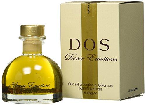 Olio extravergine di oliva con tartufi bianchi 100% bio 100ml dense emotions