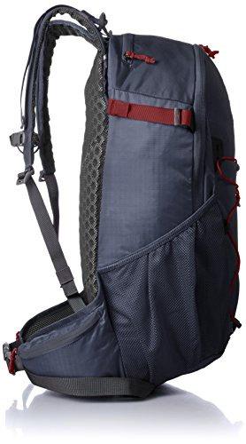 Salomon Evasion Backpack (25L) dunkelgrau - rot