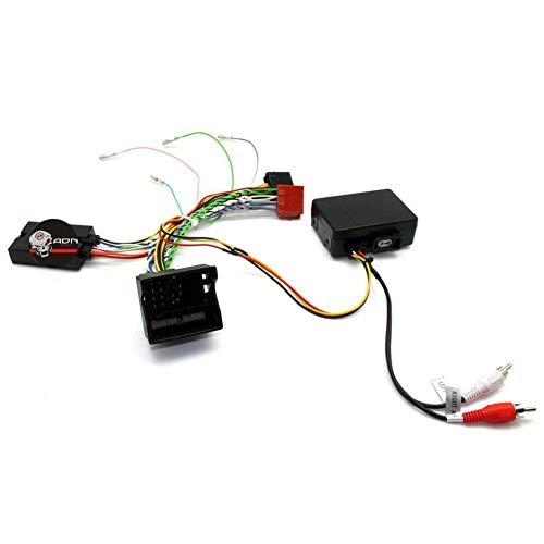 Interface Commande au volant PO4J pour Porsche ap07 Fakra Avec ampli JVC - ADNAuto