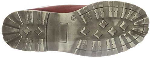 Lepi 9828leqi, Bottes courtes avec doublure chaude mixte enfant Rouge - Rot (9828 C.41 ROSSO SCURO)