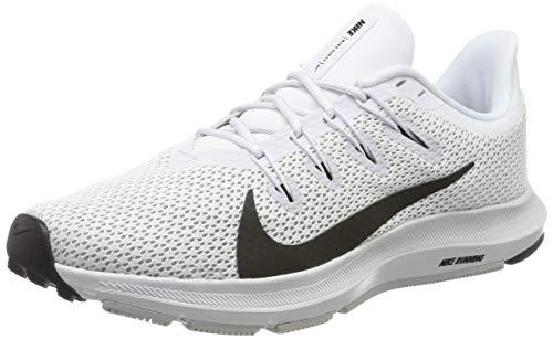 Nike Wmns Quest 2, Zapatillas de Running para Mujer, Blanco (White/Black/Pure Platinum 100), 40 EU