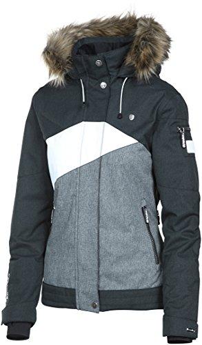 Rehall Damen Skijacke/Snowboardjacke Jessy-R schwarz/weiss (910) L