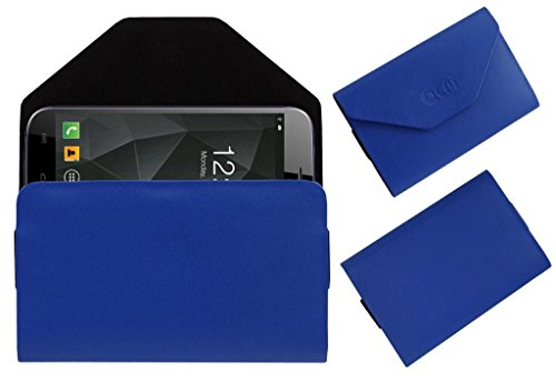 Acm Premium Pouch Case For Micromax A250 Canvas Turbo Flip Flap Cover Holder Blue  available at amazon for Rs.329