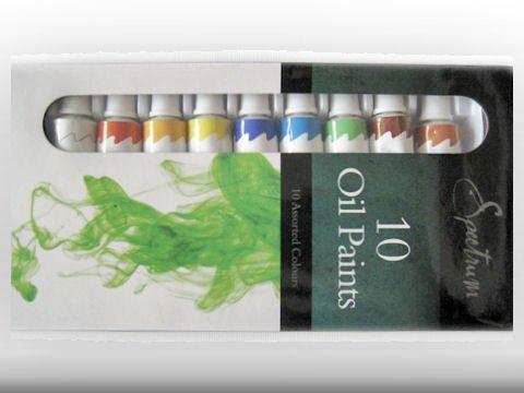 artists-oil-paints-10-x-12ml-tubes-assorted-colours