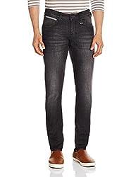 Wrangler Mens Wilford Skinny Fit Jeans (8907222322496_WRJN5664_30_Dusty Black)
